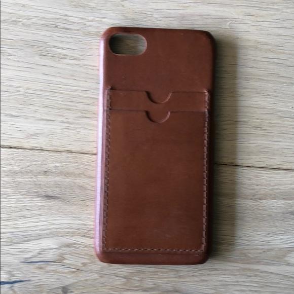 low priced af30b 571e4 iPhone 7 leather pocket case